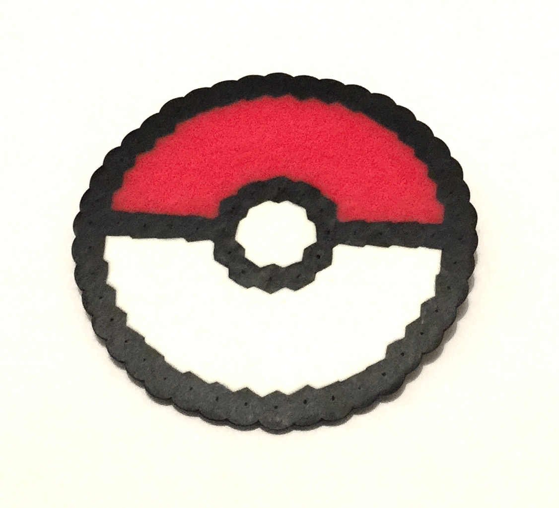 Pokemon Pokeball Pixel Art Sarah Nicole Creations